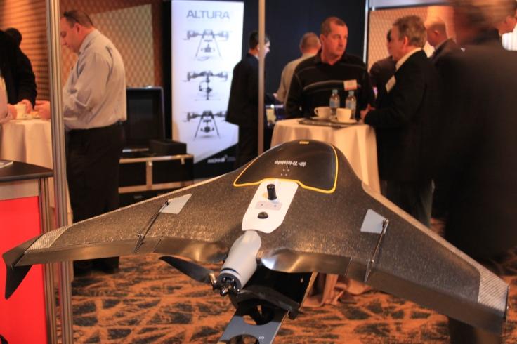 The UX-5 UAV from Haefeli Lysnar & Trimble