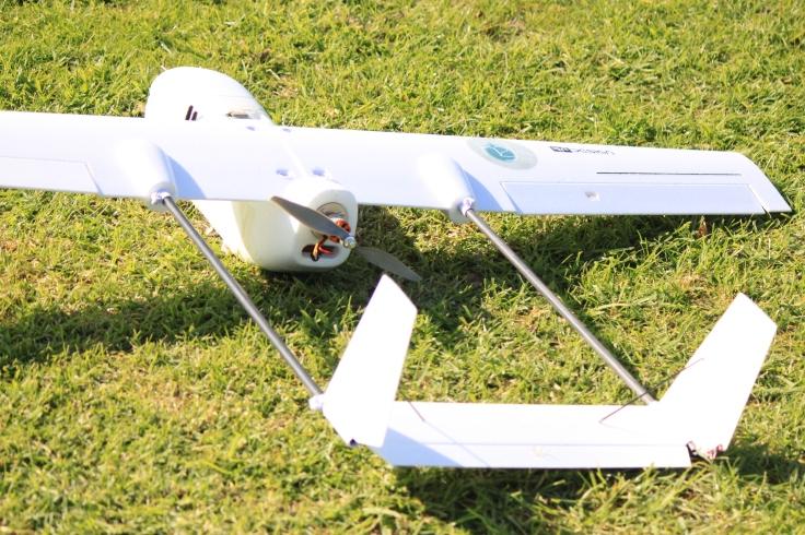 The Skyhunter ready for flight