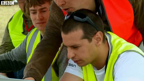 The team features briefly on the BBC doco of the 2014 UAV Outback Challenge
