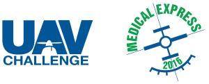 The new UAV Challenge Medical Express logo